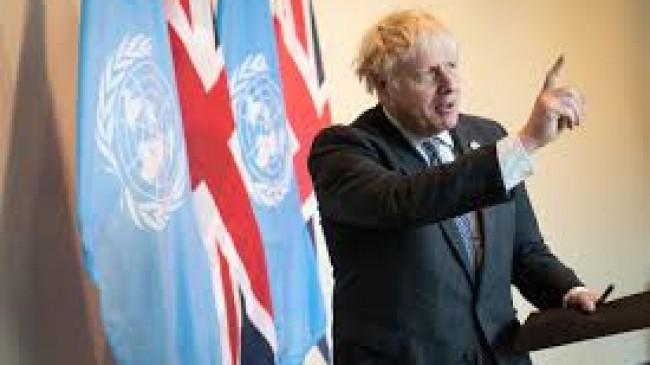İngiltere Başbakanı Johnson, iklim değişikliğinin Kovid-19'dan daha tehlikeli olduğunu söyledi