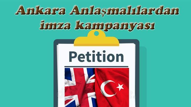 Ankara Anlaşmalılar vize durumlarını online takip etmek için imza kampanyası başlattı